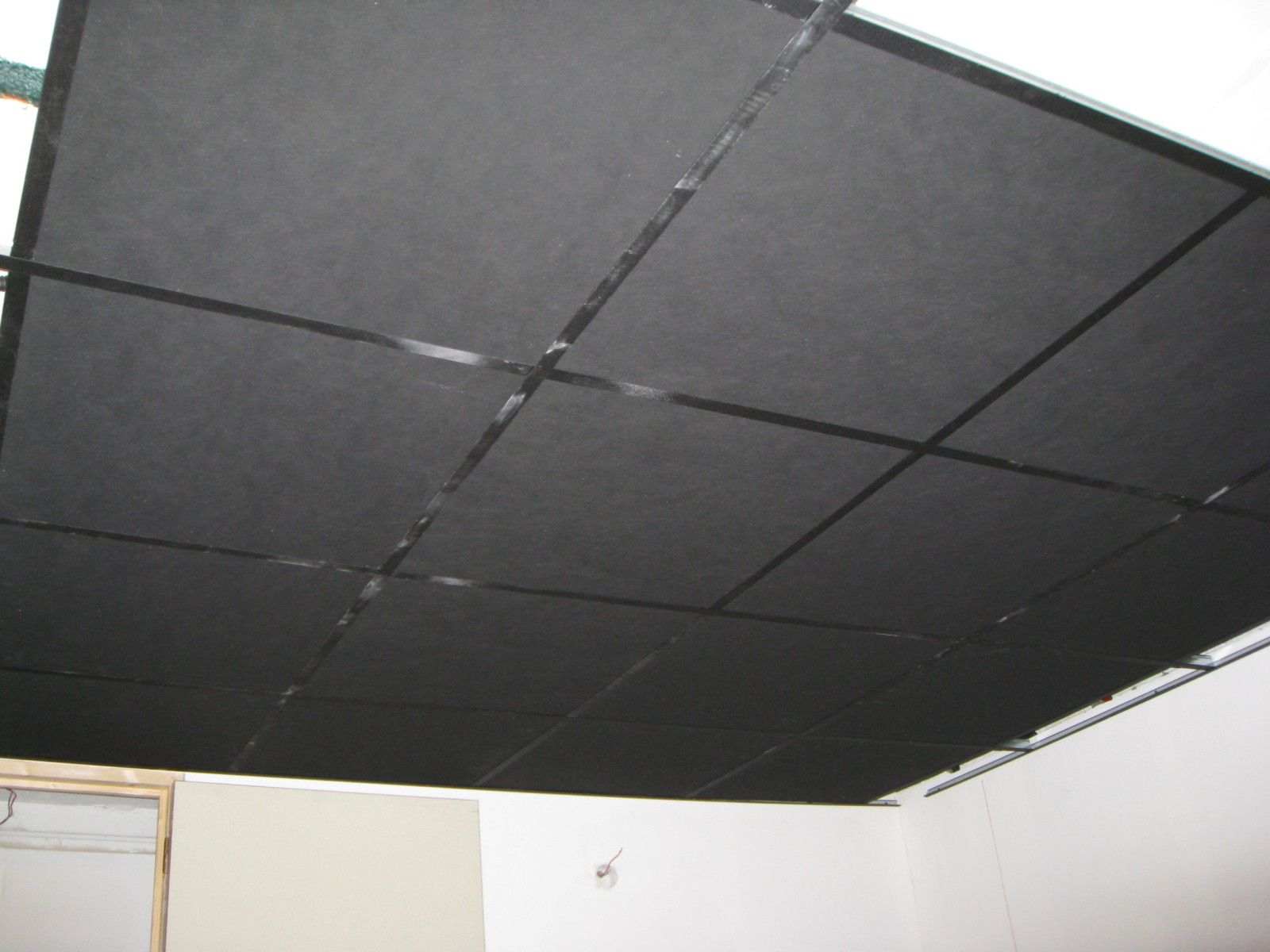 Plafond et difficult s associ es a la conqu te d 39 un r ve for Plafond dalle suspendu
