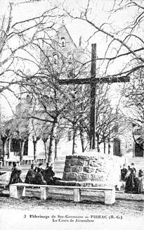 La croix de Jérusalem à Pibrac