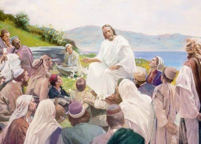 1normal christ - sermon on the mount 1 - harry anderson-cf