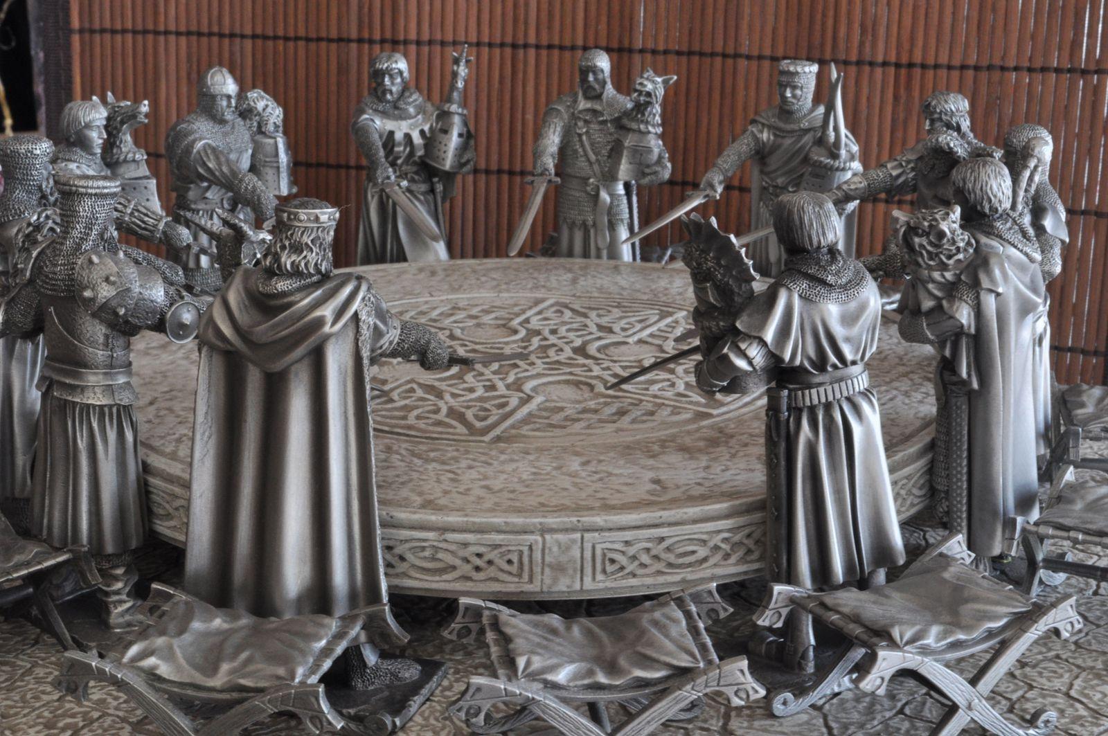 Collection l gende d 39 arthur le si ge p rilleux le - Keu chevalier de la table ronde ...