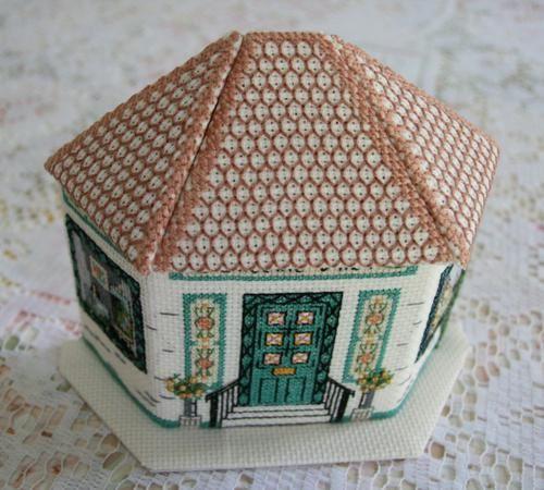 Petite Maison 3d Le Blog De Corinne La Brodeuse