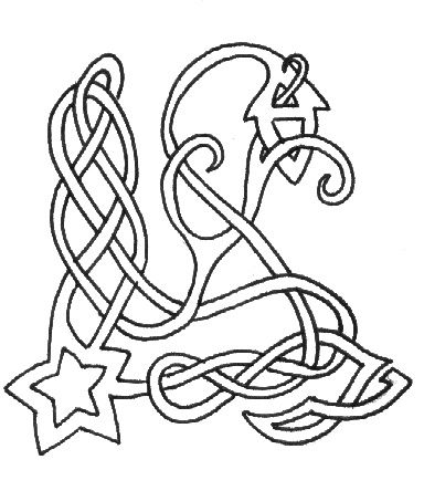 Celtic knot / noeud celte - étoile