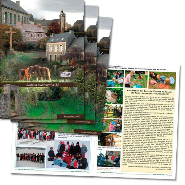 Bulletin municipal Saint-Gilles-Les-Bois