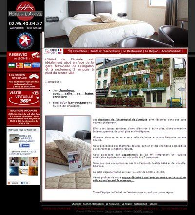 Inter Hotel de l'Arrivée Guingamp