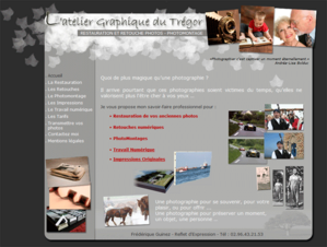 Atelier graphique du trégor, restauration, retouche, photo, montage, photographie