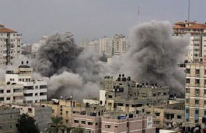 Bombardement de l'Université de Gaza