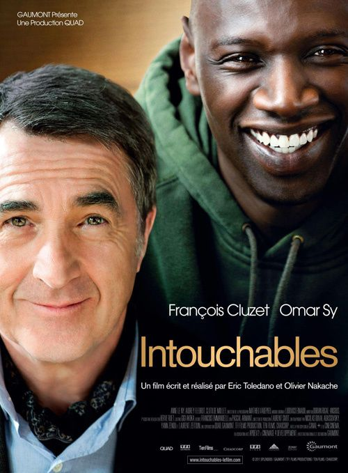 Affiche film Intouchables, parousie.over-blog.fr