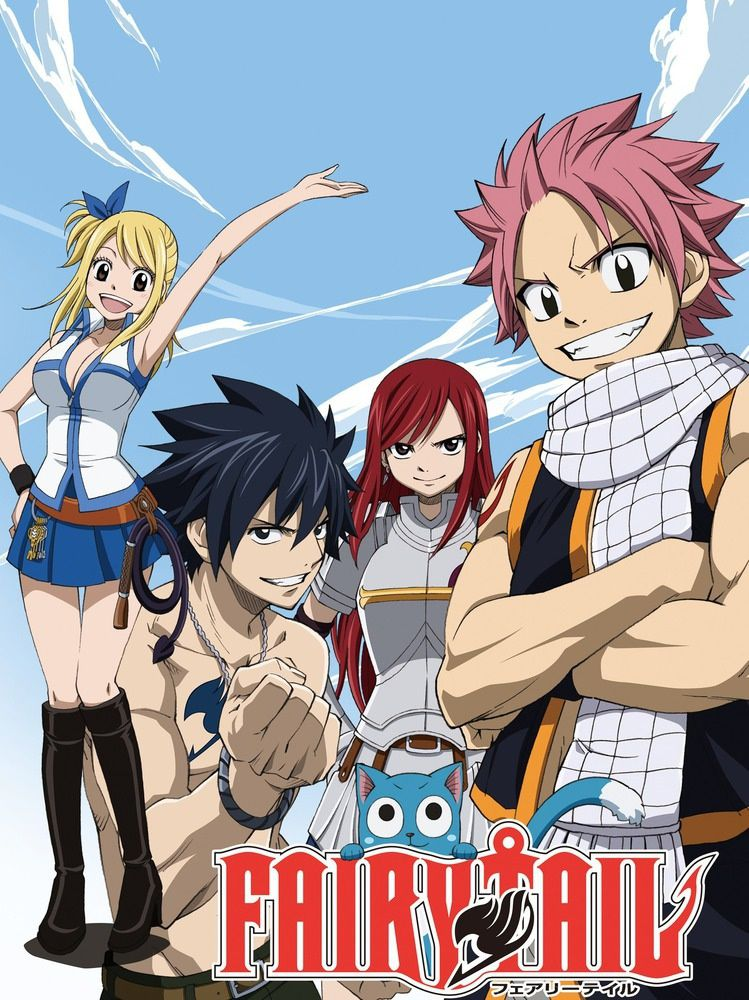 Fairy Tail [ E01 à E125/..] [VOSTFR | HD720p + HDTV ] [MULTI]