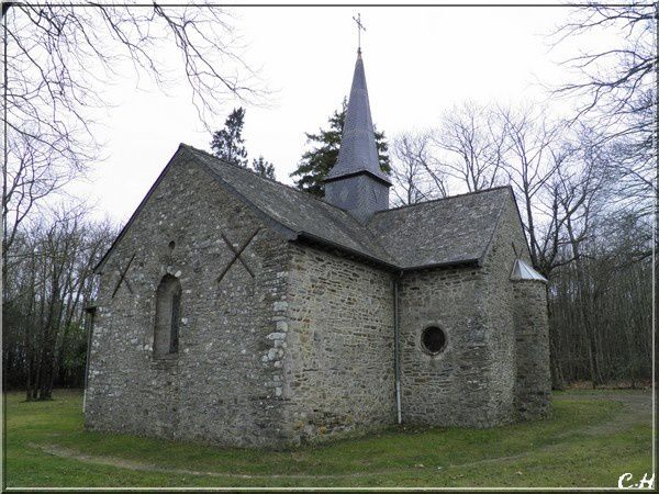 Chapelle du Coudray- Bain de Bretagne Fevrier 2011