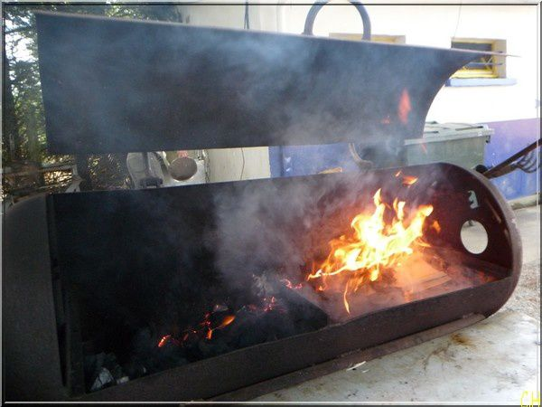 Foot GT barbecue
