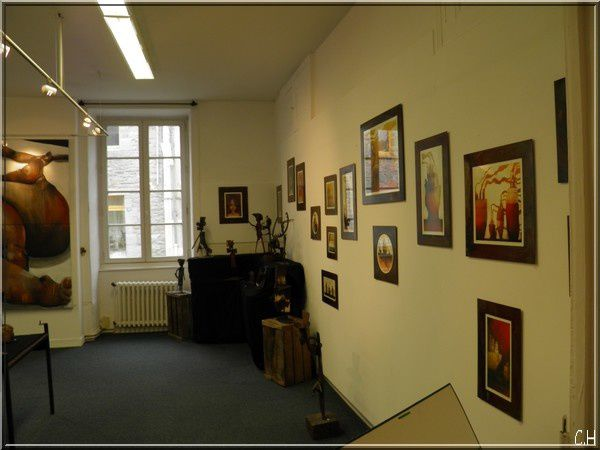 Gacilly exposition peinture comme unesalle