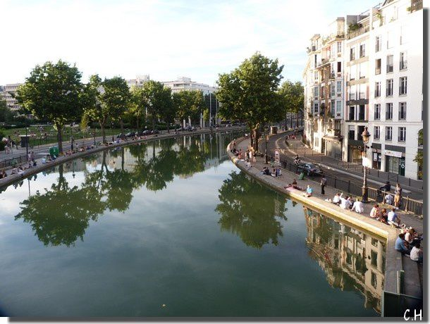 Canal St Martin Aout 2013