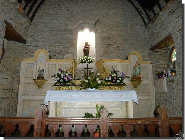 Chapelle du Coudray -2012- Nef