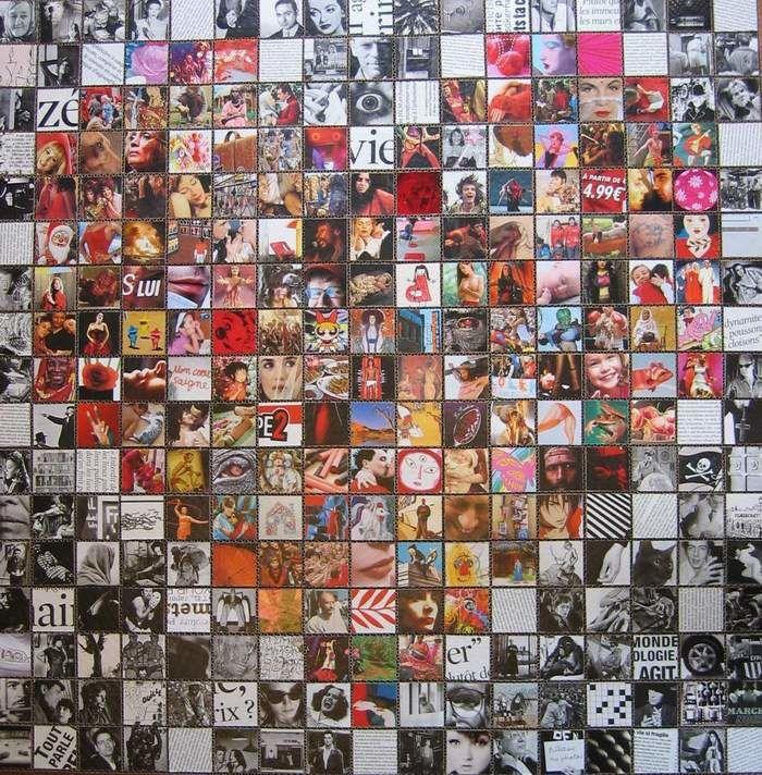 J'appelle tableaux mes oeuvres en 2 dimensions &#x3B; pas de boites à lumière par ici, quelques crânes en volume...à suivre !
