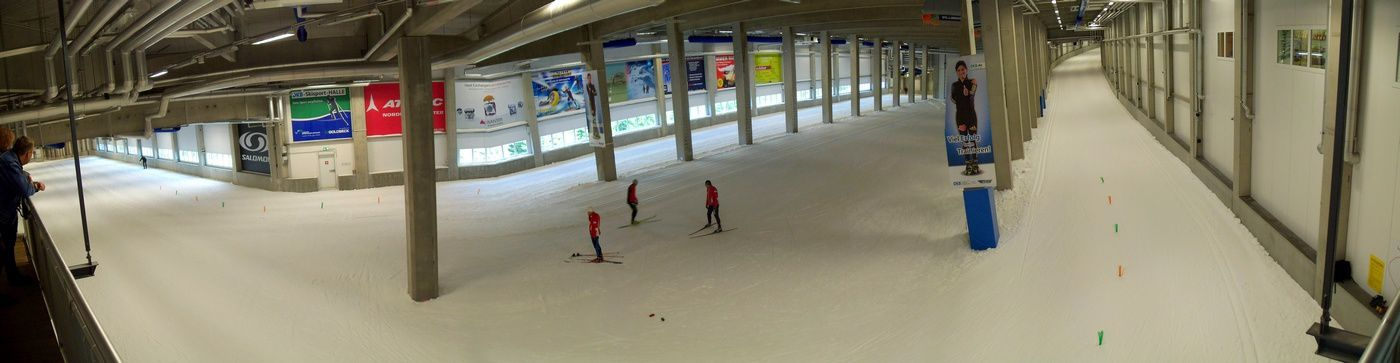 Stage club oberhof poirrier bastien team gel for Piste de ski interieur
