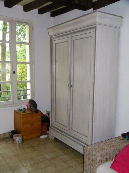 Moderniser un meuble en chene 15 copie de armoire louis - Moderniser un meuble ...