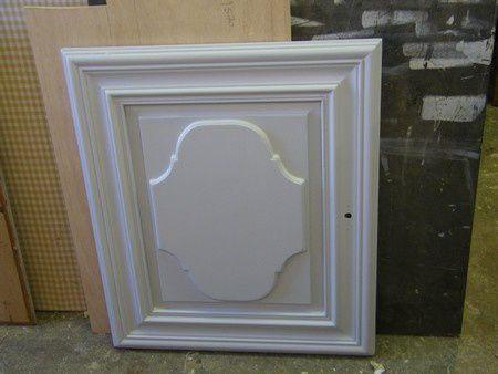 porte chene peint gris gustavien