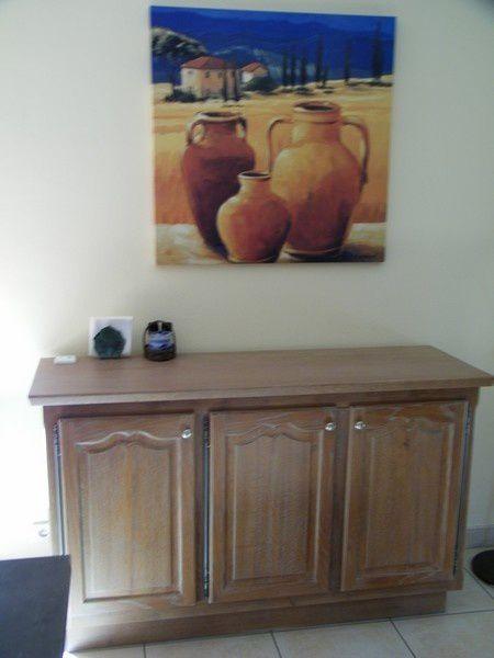 Relooking d une cuisine gr ce sa fa ade c rus e for Ceruser un vieux meuble