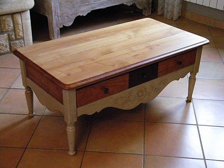 relooking table basse