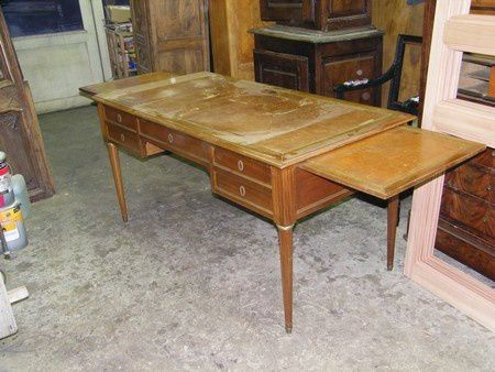 Changement de look pour bureau plat louis xvi atelier - Bureau de placement restauration paris ...