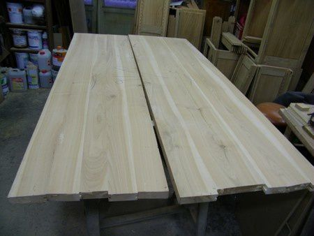 Transformation de meuble atelier de l 39 b niste c cognard for Plateau pour table a manger