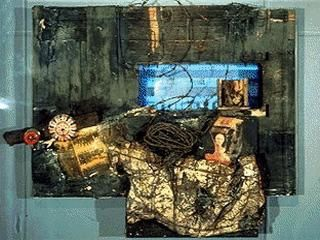 Vostell Wolf 1958-63 German view from the black room cycle