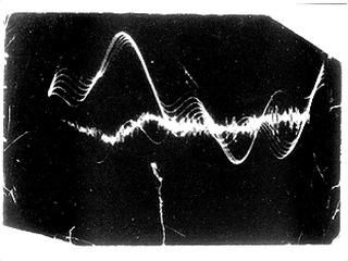 Vostell Wolf 1959-63 Oscillograph on Beethoven