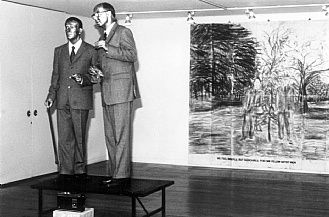 Gilbert & George the singing sculpture 1992