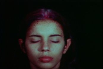 Mendieta Sweating Blood 1973