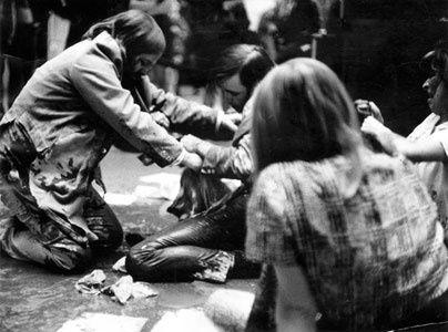 Guerrilla Art Action Group 1969 Moma NYC against Vietnam Wa