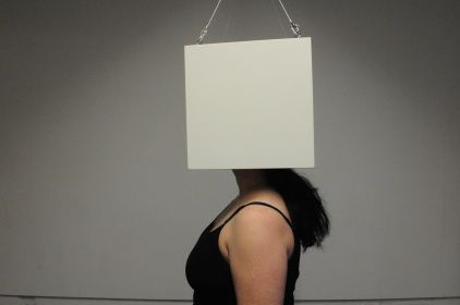 Sinéad O'Donnell, 'headspace;white cube', Performance art
