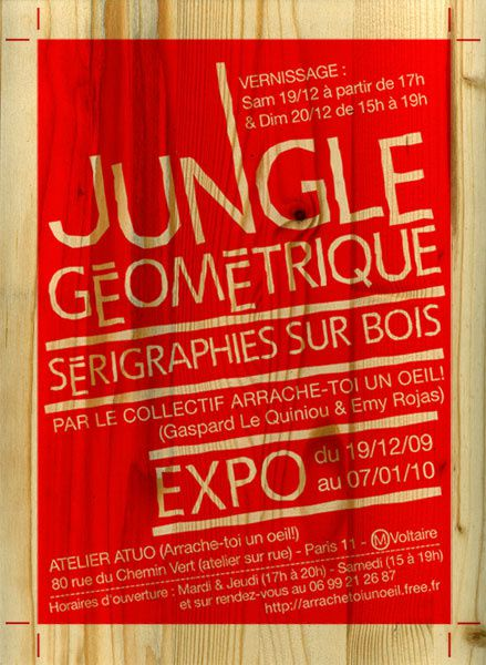 flyer expo jungle