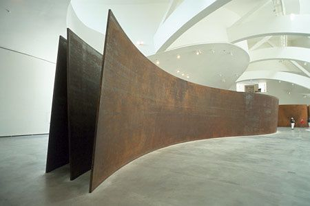 the tilted arc and the wrapped Image tilted_arc_2_aschkenasjpg from the tilted arc richard serra gallery   mikyoung kim design - chapel hill,nc exhale the sculpture wraps over itself.