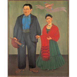 Frida Kahlo and Diego Rivera 1931