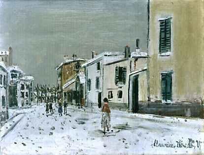 Utrillo ( neige)