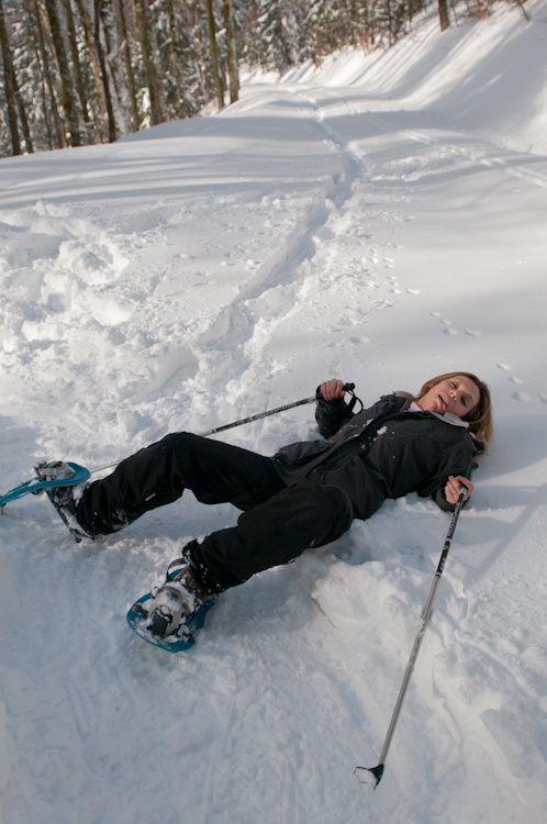 Une randonnée en raquettes à neige autour du lac de Blanchemer dans les vosges (Decteur Gérardmer / La bresse)