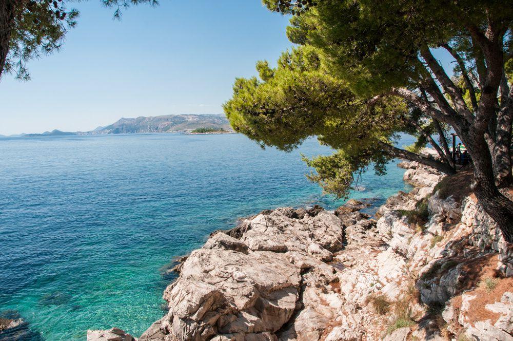 Cavtat en adriatique