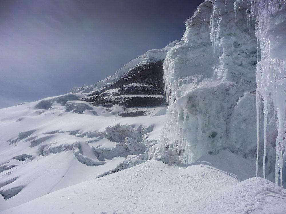 Objectif 5897m. 6h15 d'ascension à partir du refuge pour atteindre le cône parfait du plus haut volcan actif du monde : le cotopaxi