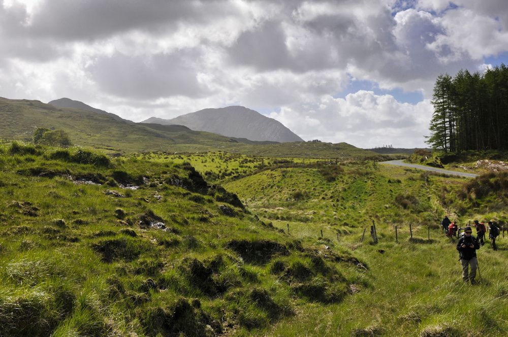 Le connemara : Inagh Valley, le fjord de killary Harbor