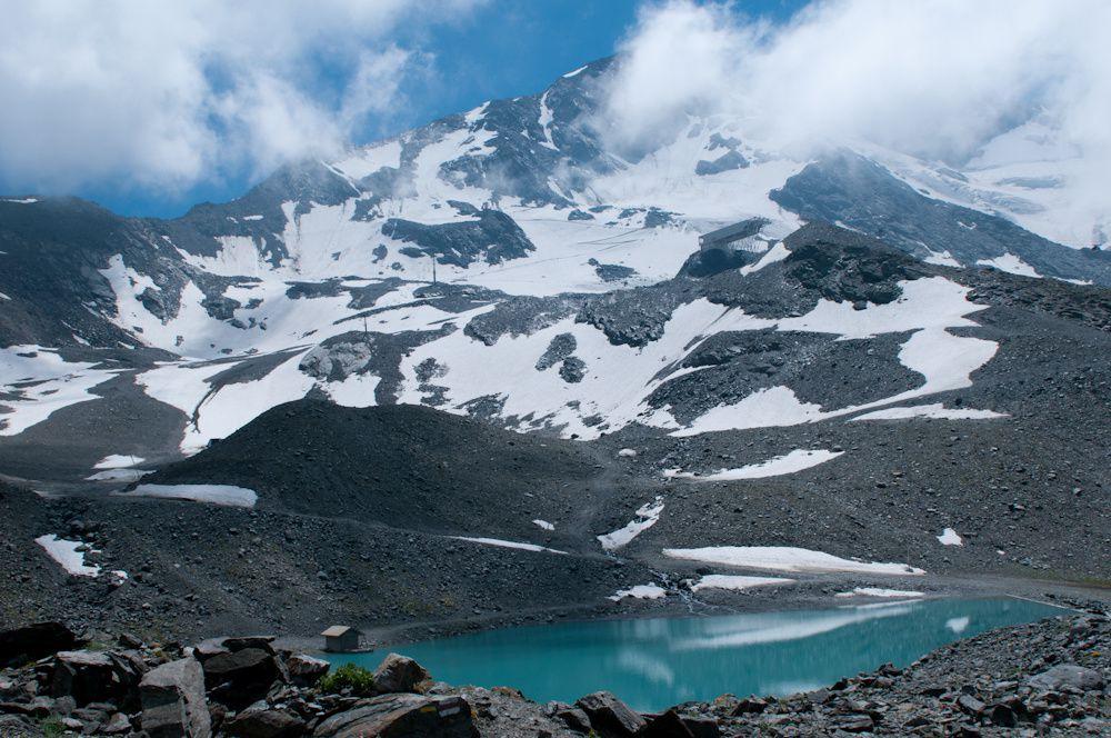 Val Thorens - Le glacier de Péclet par le lac Blanc