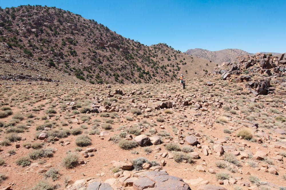 Djebel Sarhro - Etape 1 Tagdilt à Almou n'Ouarg