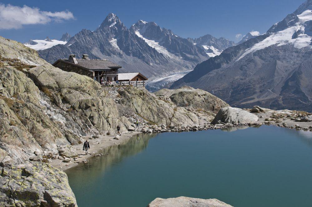 Le lac Blanc Mont-Blanc
