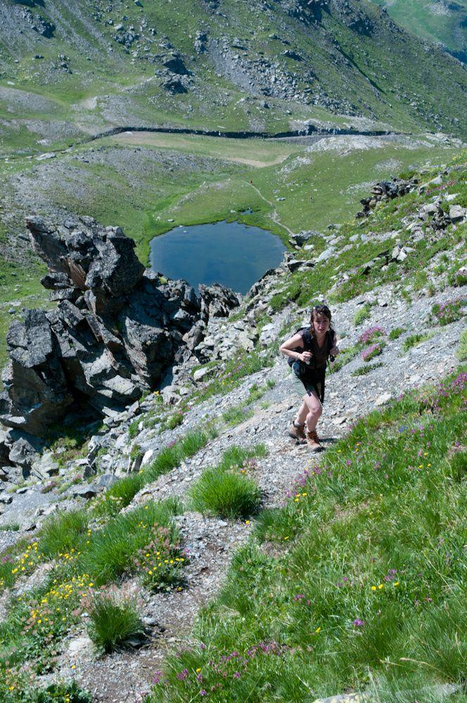 Objectif 3000 : Le Mont Péclet par le lac de Montaulever et par le col e la Chambre