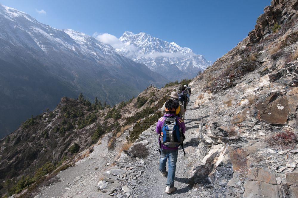 Trek des Annapurnas 2ème partie : de Pissang à LederPissang, Manang, Leder
