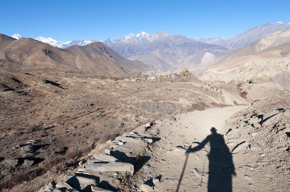 Tour des Annapurnas 3èmpe partie de Leder à JomosomLeder, Thorong Phedi, Thorong la, Muktinath, Jomosom