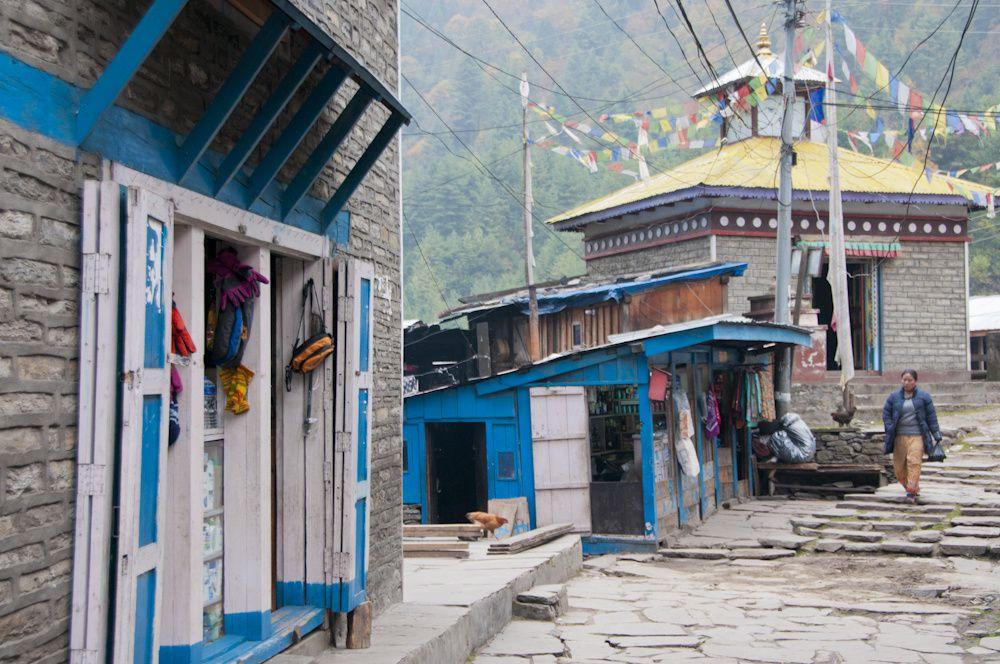 Villages traversés lors du trek du tour des annapurnas
