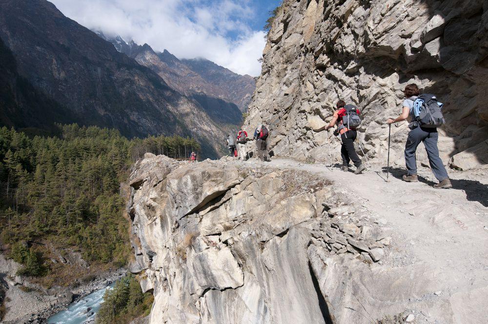Le tour des Annapurnas1ère partie de Besi sahar à Pissang Besi-sahar, Ngadi, Jagat, Dharapani, chame, Pissang