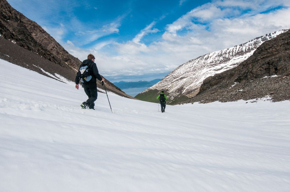 Ushuaia - le glacier Martial