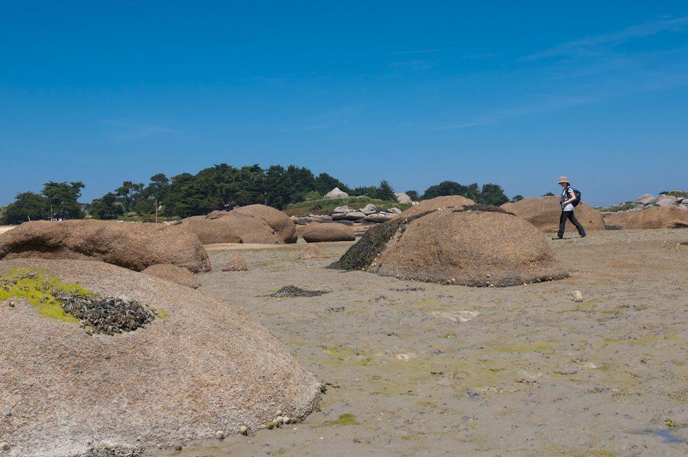 GR34 Perros Girec, Ploumanac'h, la côte de granit rose