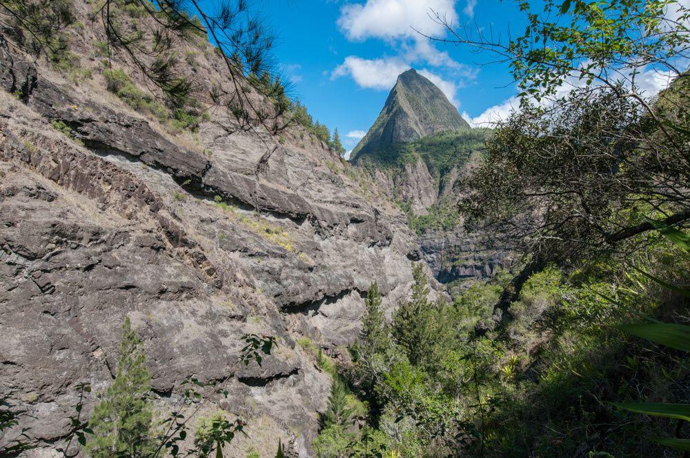 Ile de la Réunion GR R2 de Aurère à Ilet des Lataniers